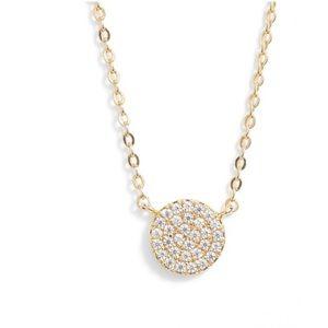 Nadri pave pendant necklace